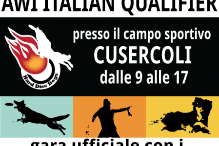 AWI Qualifier Italy moved to Cusercoli, Forlì