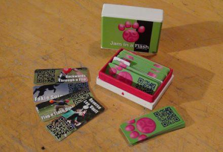 Flash Jam Cards