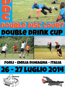 flyer ddc double drink cup 2014