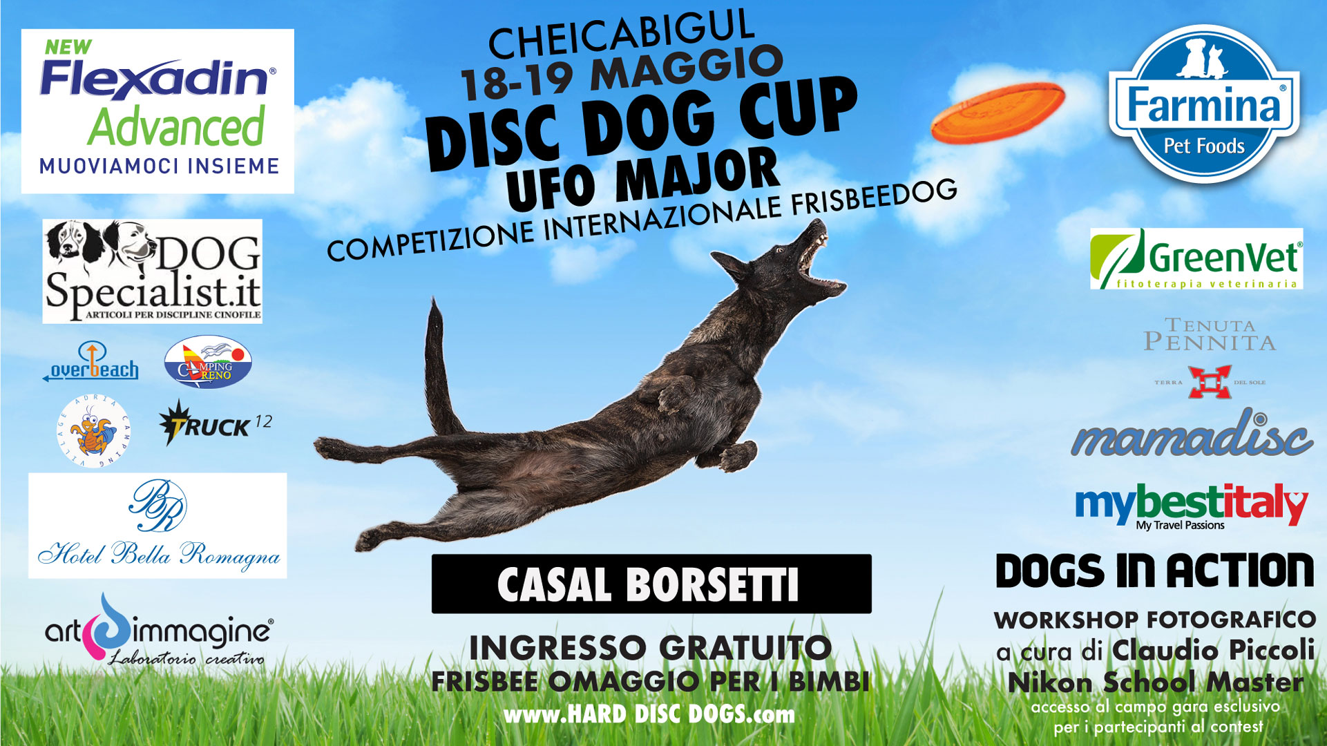 Cheicabigul Disc Dog Cup UFO Major 2019
