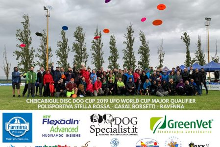 Cheicabigul 2019 Disc Dog Cup UFO Major