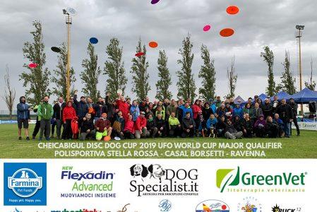 Cheicabigul 2019 Disc Dog Cup UFO Major